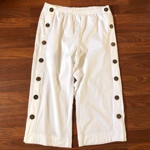 Soft Surroundings Newport Beach Pants White Sz M
